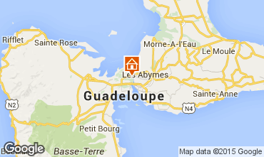 Mapa Gosier (Guadeloupe) Apartamentos 97690