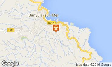 Mapa Banyuls-sur-Mer Apartamentos 65514