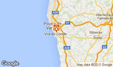 Mapa Vila do Conde Apartamentos 75568