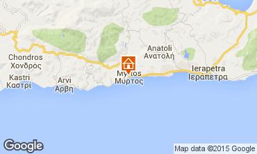 Mapa Ierapetra Apartamentos 100687