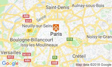 Mapa PARIS Apartamentos 115578