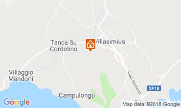 Mapa Villasimius Apartamentos 117111