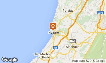 Mapa Nazar� Apartamentos 85567