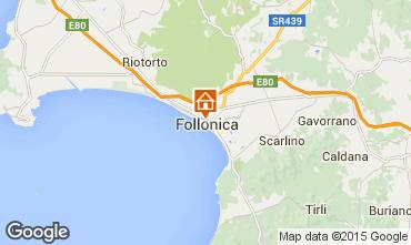 Mapa Follonica Apartamentos 76470