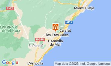 Mapa L'ampolla Vivenda 116276