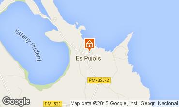 Mapa Es Pujols Est�dio 58813