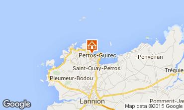 Mapa Perros-Guirec Apartamentos 7430