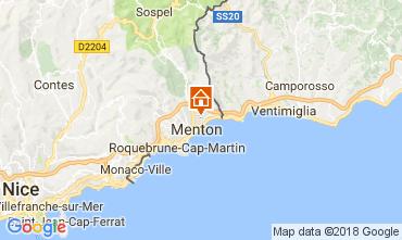 Mapa Menton Apartamentos 113375