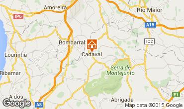 Mapa Cadaval Casa de turismo rural/Casa de campo 101013