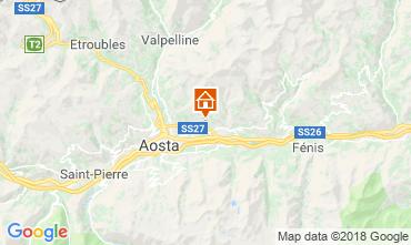 Mapa Aosta Apartamentos 116508