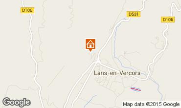 Mapa Villard de Lans - Corren�on en Vercors Chal� 95804