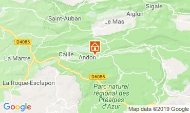 Mapa Grasse Casa de turismo rural/Casa de campo 118775