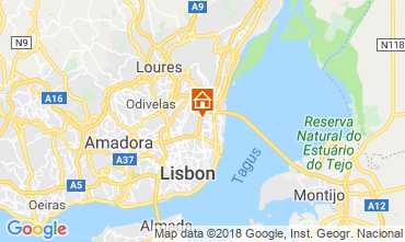 Mapa Lisboa Apartamentos 116111