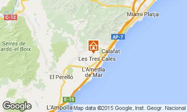 Mapa La Ametlla de Mar Vivenda 67017