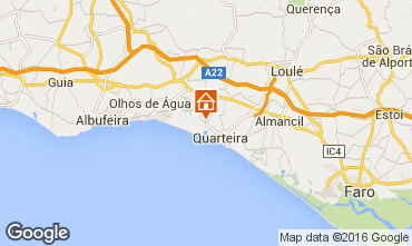 Mapa Vilamoura Apartamentos 102175