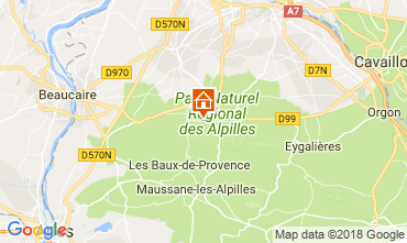 Mapa Saint Rémy de Provence Vivenda 113738