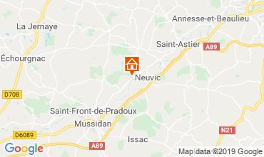 Mapa P�rigueux Casa de turismo rural/Casa de campo 99472
