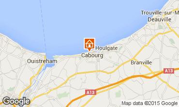 Mapa Cabourg Apartamentos 78575