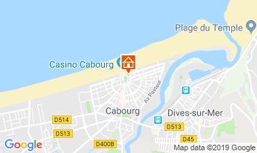 Mapa Cabourg Apartamentos 63247