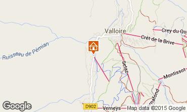 Mapa Valloire Apartamentos 92317