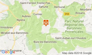 Mapa Buis les Baronnies Casa de turismo rural/Casa de campo 12573