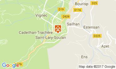 Mapa Saint Lary Soulan Apartamentos 112350
