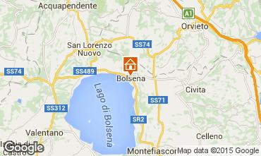 Mapa Bolsena Apartamentos 79320