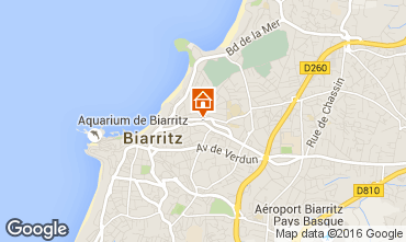 Mapa Biarritz Apartamentos 102292