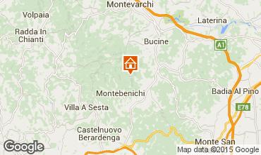 Mapa Siena Casa de turismo rural/Casa de campo 84892