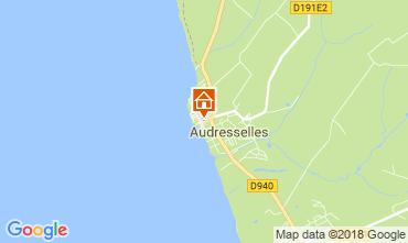Mapa Audresselles Casa de turismo rural/Casa de campo 115601