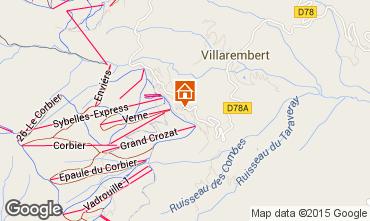 Mapa Le Corbier Apartamentos 60817