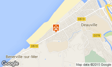 Mapa Deauville Apartamentos 63538