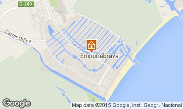 Mapa Empuriabrava Apartamentos 82801