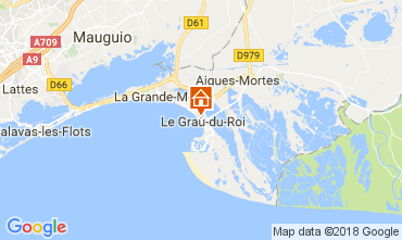 Mapa Le Grau du Roi Apartamentos 110990