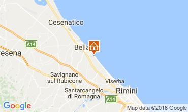 Mapa Bellaria Igea Marina Apartamentos 114509