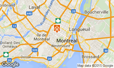 Mapa Montreal Apartamentos 14220