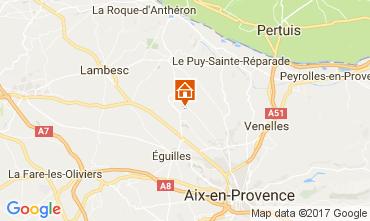Mapa Aix en Provence Vivenda 109342