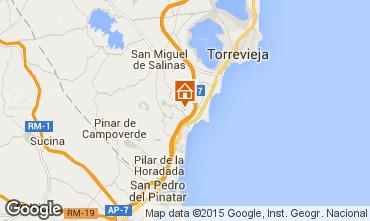 Mapa Torrevieja Apartamentos 75404