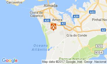Mapa Costa de Caparica Vivenda 78951
