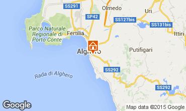 Mapa Alghero Apartamentos 45136