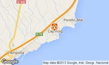 Mapa L'ampolla Vivenda 93809