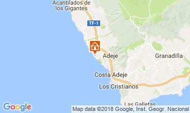 Mapa Adeje Apartamentos 113786