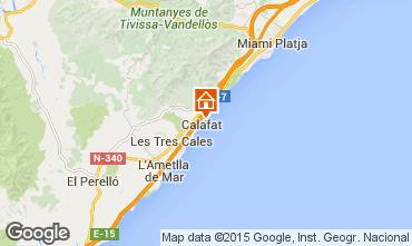 Mapa La Ametlla de Mar Vivenda 80569