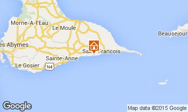 Mapa Saint Francois Apartamentos 82066