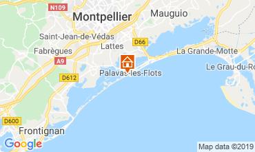 Mapa Palavas-les-Flots Apartamentos 29561
