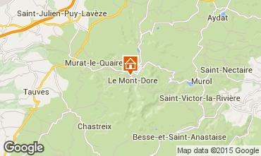 Mapa Le Mont Dore Apartamentos 50842