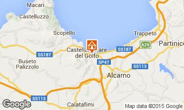 Mapa Castellammare del Golfo Apartamentos 80319