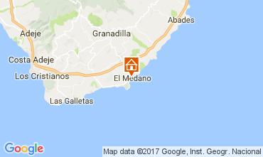 Mapa El Medano Apartamentos 109379