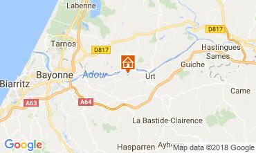 Mapa Bayonne Casa de turismo rural/Casa de campo 13612
