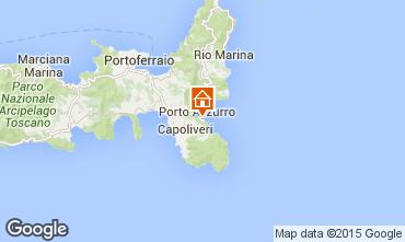 Mapa Capoliveri Apartamentos 36656
